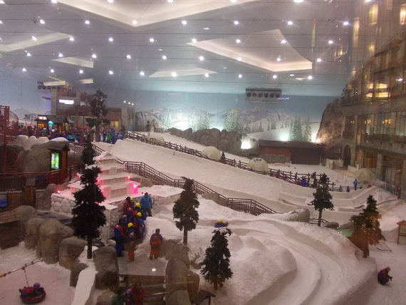 Unbelievable Family Holiday in Dubai (Ski Dubai)_5