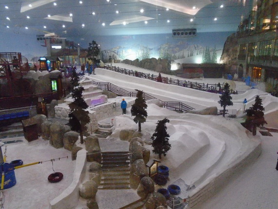 Unbelievable Family Holiday in Dubai (Ski Dubai)_6