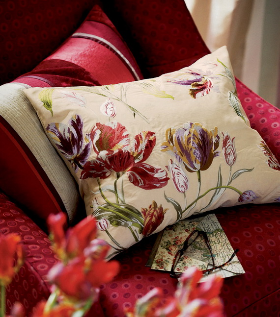 Beautiful Cushions by Laura Ashley for a Warm and Personal Family Home_04