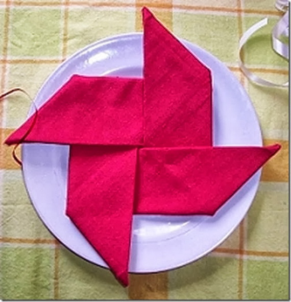 Creative Napkin Folds for Your Holiday Table (21)