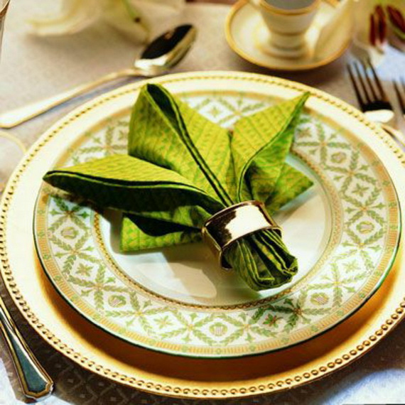 Creative Napkin Folds for Your Holiday Table (38)
