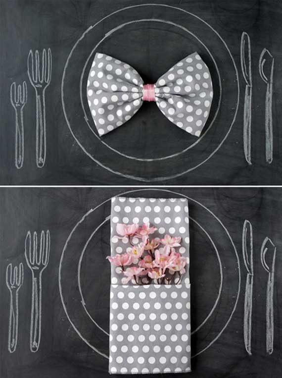 Creative Napkin Folds for Your Holiday Table (40)