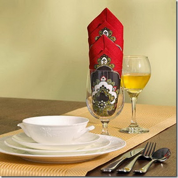 Creative Napkin Folds for Your Holiday Table (5)