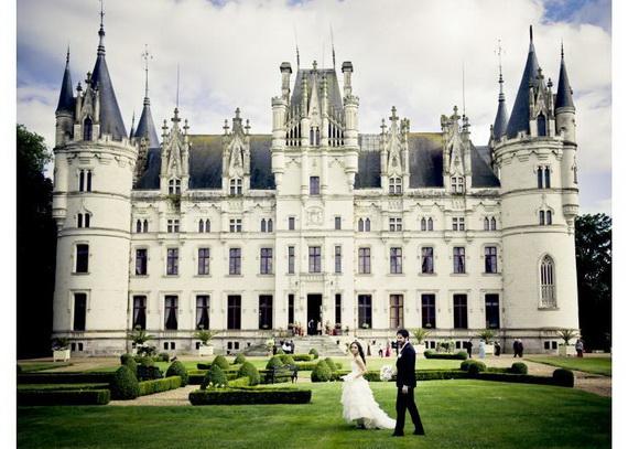 Luxury Destination Wedding in Chateau De Challagne, _20