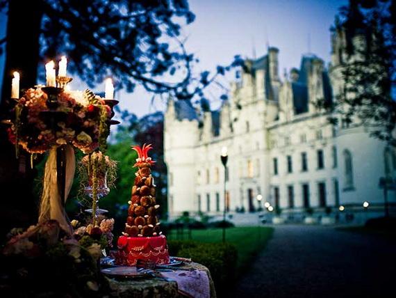 Luxury Destination Wedding in Chateau De Challagne, _49
