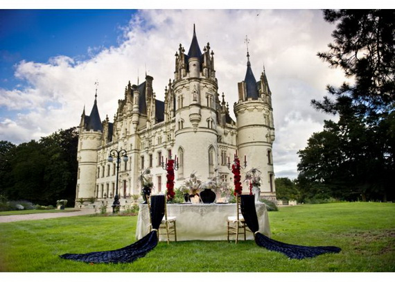 Luxury Destination Wedding in Chateau De Challagne, _52