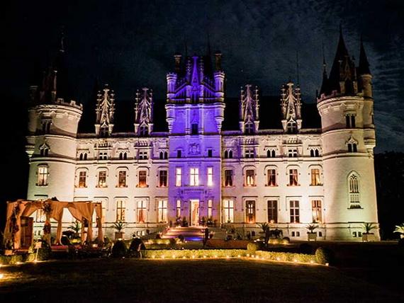 Luxury Destination Wedding in Chateau De Challagne, _60