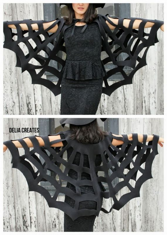35 Spooky and Fun DIY Halloween Crafts Ideas _37