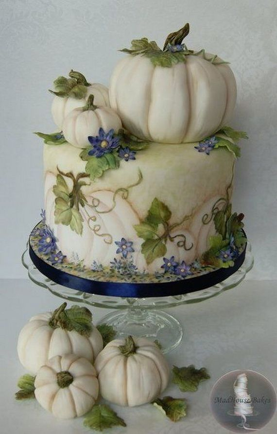 45 Edible Decoration Ideas for Halloween Cakes and Cupcake (1)
