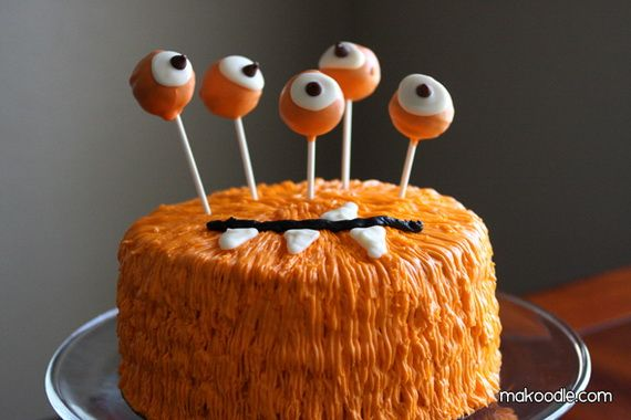 45 Edible Decoration Ideas for Halloween Cakes and Cupcakes_40