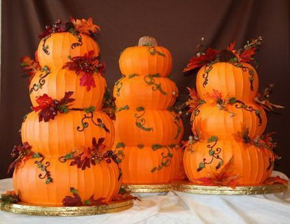 Fabulous Fall Cakes and Cupcakes Decorating Ideas (22)