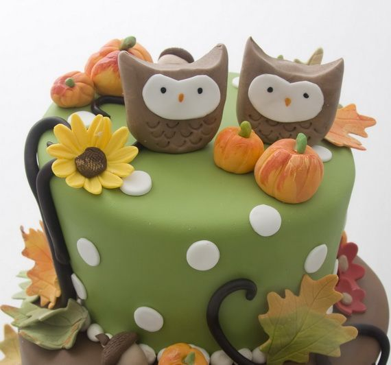Fabulous Fall Cakes and Cupcakes Decorating Ideas (25)