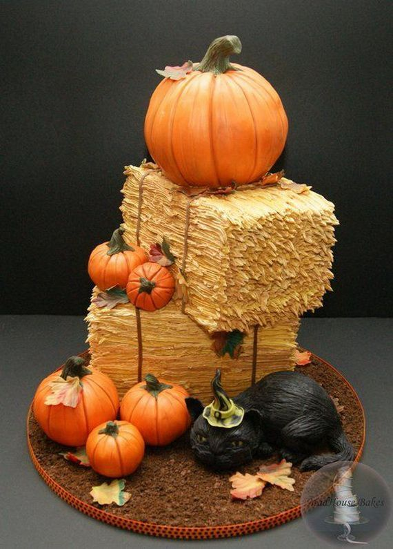 Fabulous Fall Cakes and Cupcakes Decorating Ideas (34)
