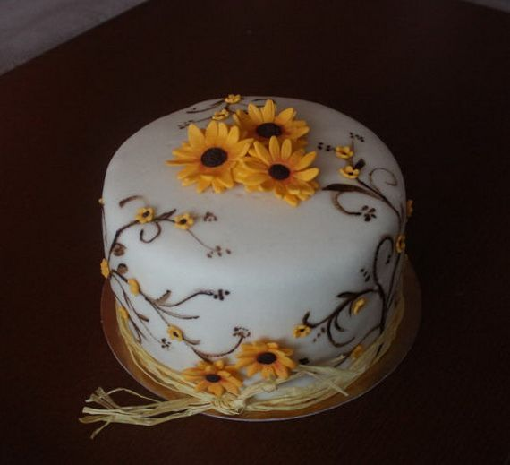 Fabulous Fall Cakes and Cupcakes Decorating Ideas (47)