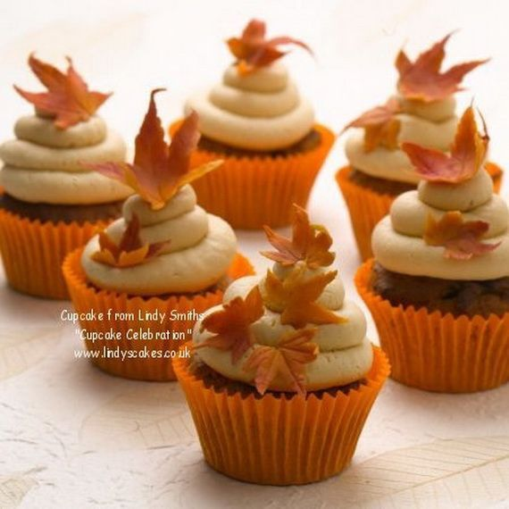 Fabulous Fall Cakes And Cupcakes Decorating Ideas F 5