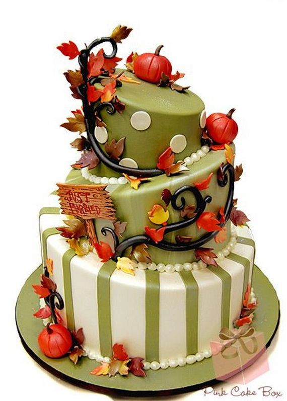 Fabulous Fall Cakes and Cupcakes Decorating Ideas f (7)