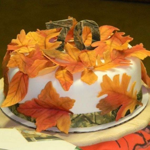 Fabulous Fall Cakes And Cupcakes Decorating Ideas F 9