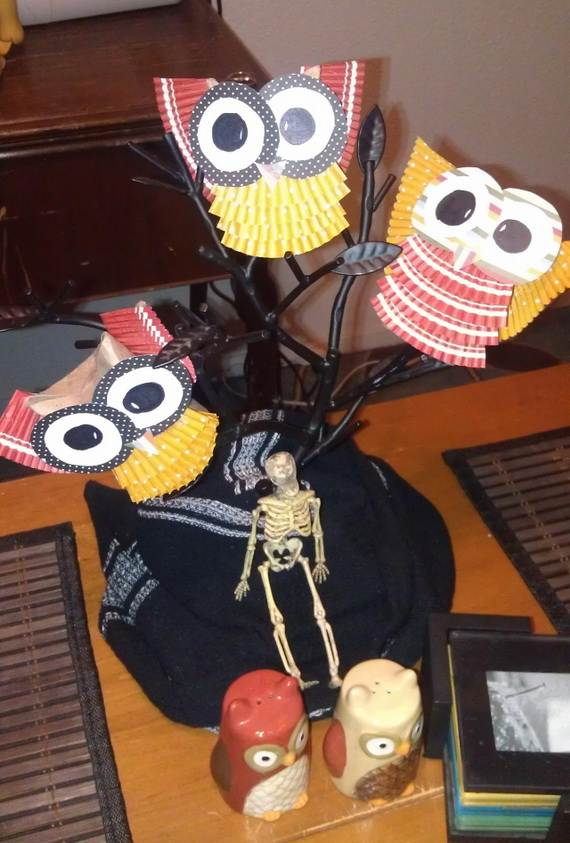 Fall Crafts With Children – Owl Handicraft For Cozy Hours (1)