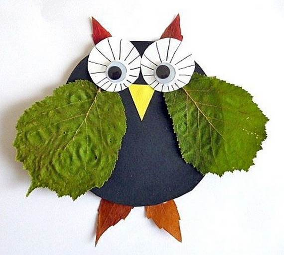 Fall Crafts With Children – Owl Handicraft For Cozy Hours (11)
