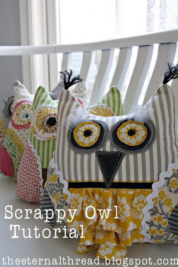Fall Crafts With Children – Owl Handicraft For Cozy Hours (21)