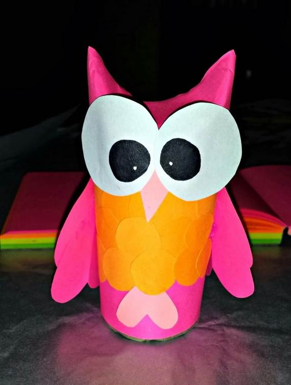 Fall Crafts With Children – Owl Handicraft For Cozy Hours (22)