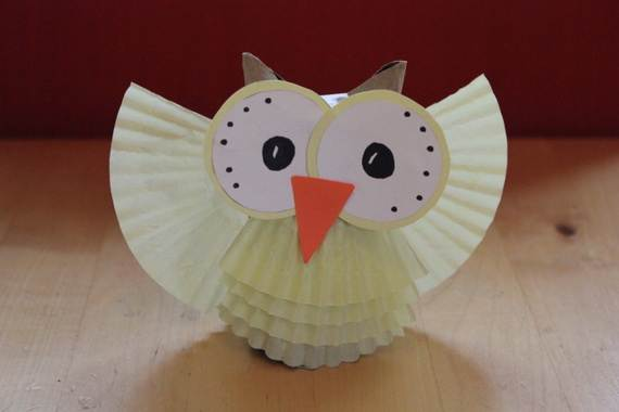 Fall Crafts With Children – Owl Handicraft For Cozy Hours (27)