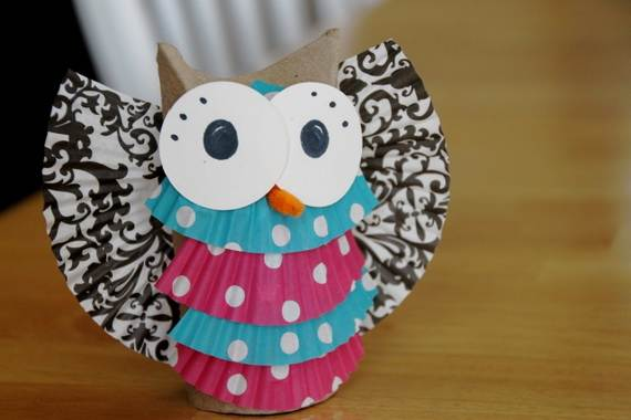 Fall Crafts With Children – Owl Handicraft For Cozy Hours (28)