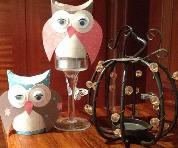 Fall Crafts With Children – Owl Handicraft For Cozy Hours (4)