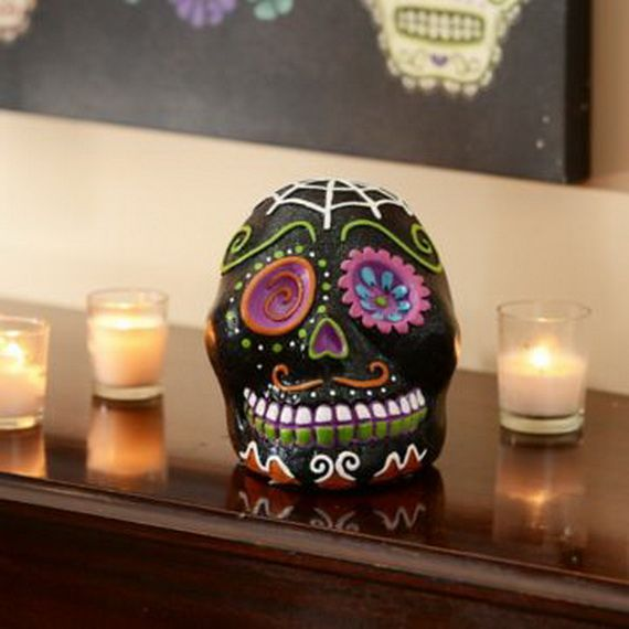 Mexican Day of the Dead Decoration ideas_15