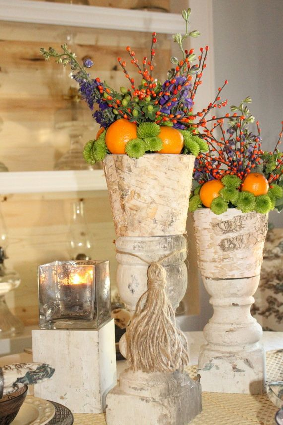 45 Great craft ideas for autumn decorations for inside and outside_22
