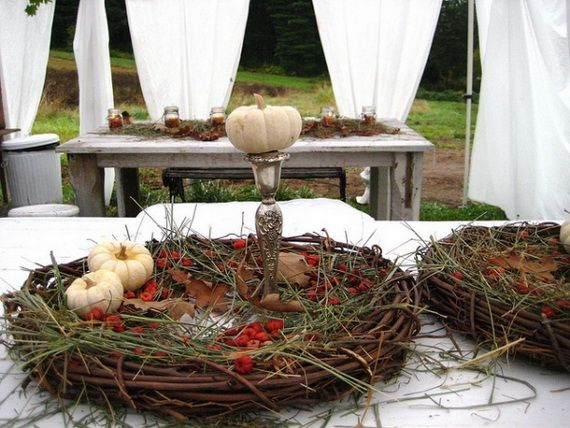 45 Great craft ideas for autumn decorations for inside and outside_32