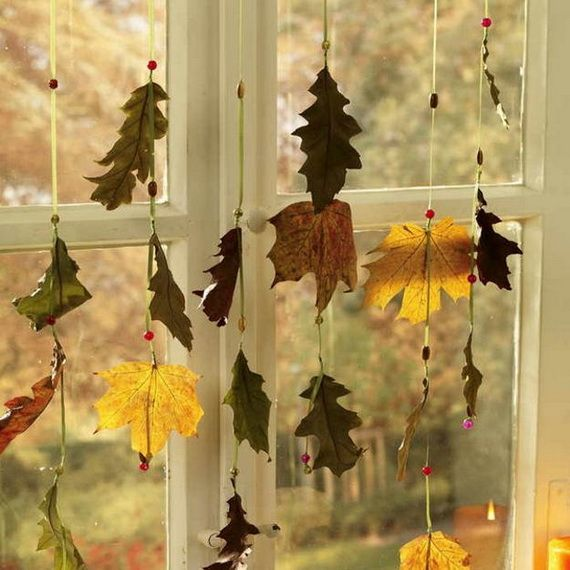 45 Great craft ideas for autumn decorations for inside and outside_40