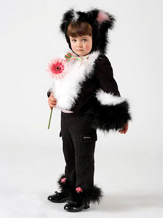 60 Homemade Halloween Costumes for Kids _06
