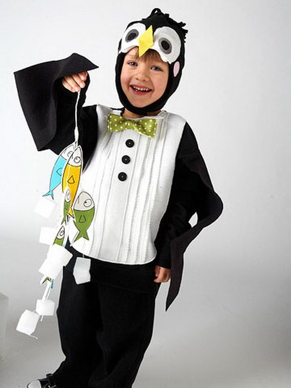 60 Homemade Halloween Costumes for Kids _16