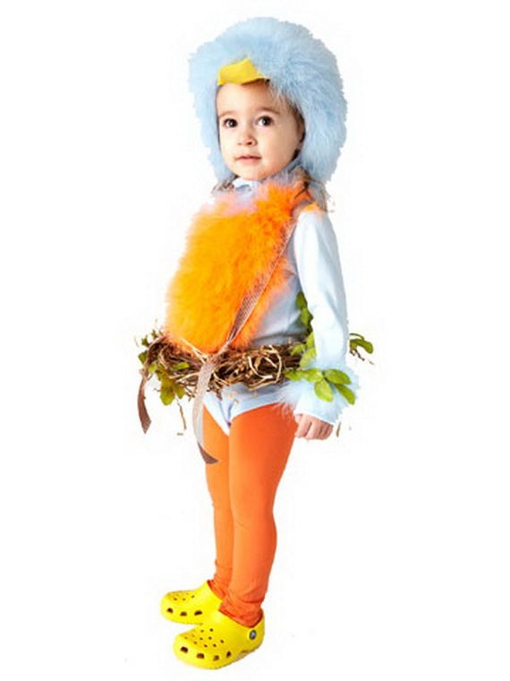 60 Homemade Halloween Costumes for Kids _17