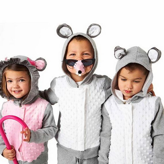 60 Homemade Halloween Costumes for Kids _18