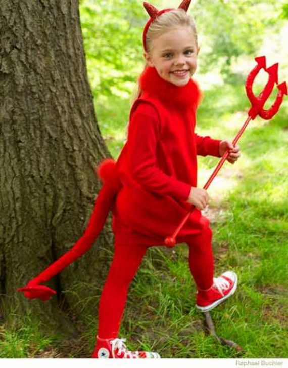 60 Homemade Halloween Costumes for Kids _22