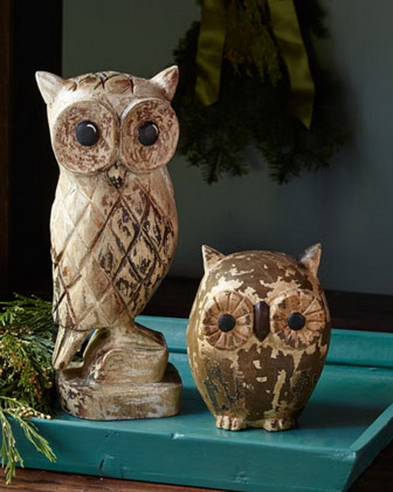 Affordable Owl Holiday Decor & Gift Ideas for the Home_26