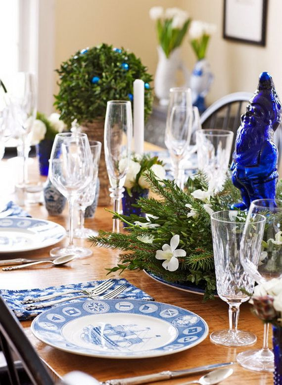 Beautiful, Glamorous Holiday Home in Blue and White_31
