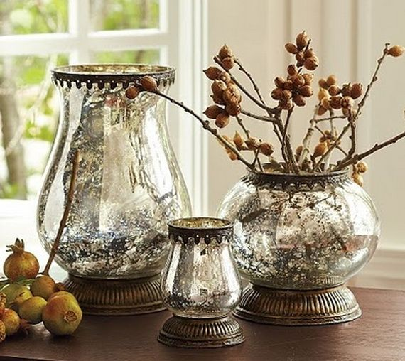 Beautiful Mercury Glass Decorations For Your Coming Holidays _05