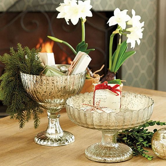 Beautiful Mercury Glass Decorations For Your Coming Holidays _07