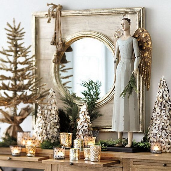 Beautiful Mercury Glass Decorations For Your Coming Holidays _11