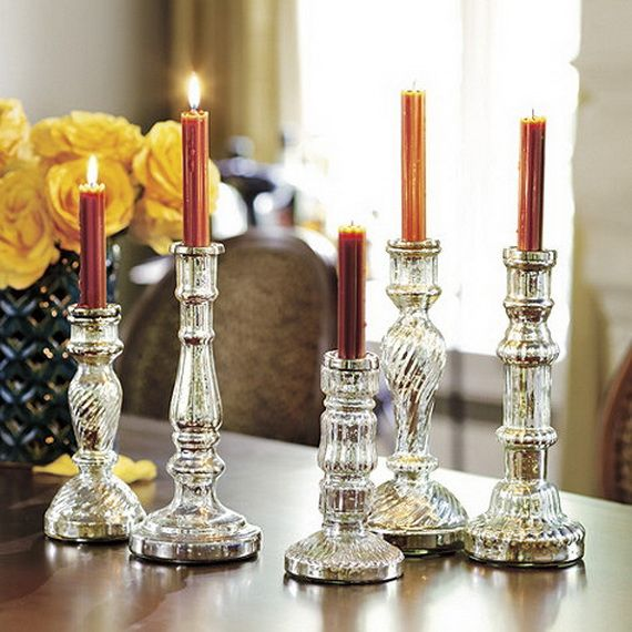 Beautiful Mercury Glass Decorations For Your Coming Holidays _12
