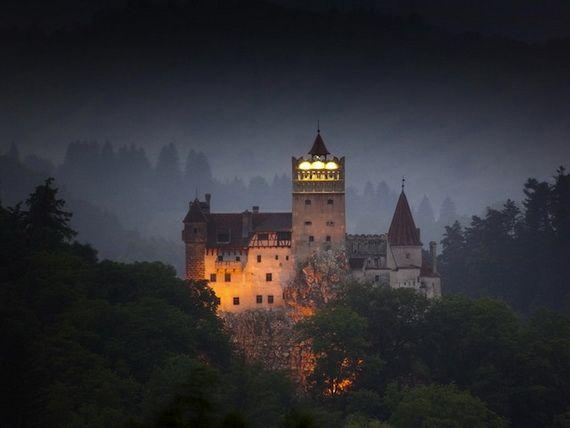 Bran castle Dracula castle, Bran, Transylvania, Romania, Europe