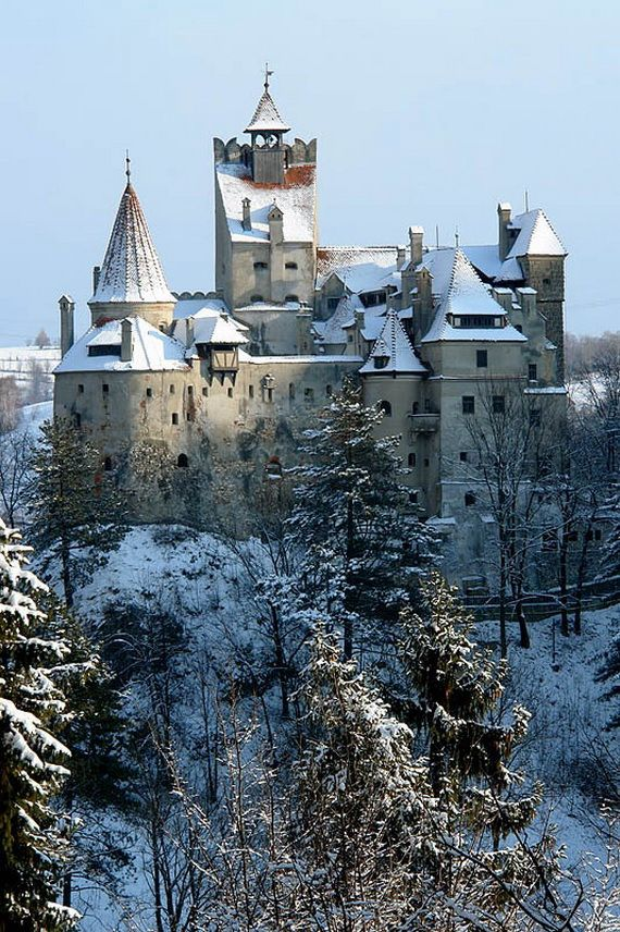 Best Destinations for Halloween Bran Castle - Dracula's Castle_28
