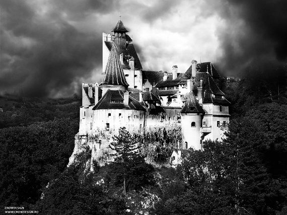 Best Destinations for Halloween Bran Castle - Dracula's Castle_32
