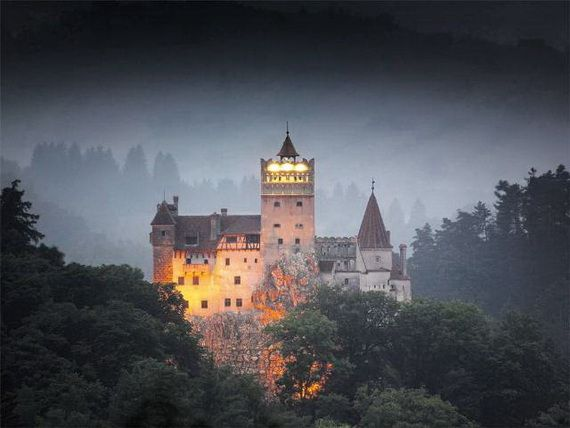 Best Destinations for Halloween Bran Castle - Dracula's Castle_43