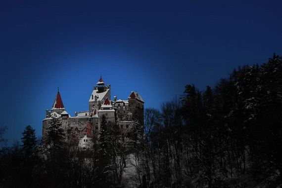 Best Destinations for Halloween Bran Castle - Dracula's Castle_46