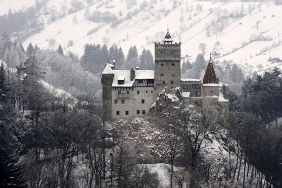 Best Destinations for Halloween Bran Castle - Dracula's Castle_50