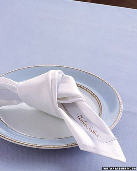 Creative Elegant Napkin Ideas You Can't Screw Up For Any Occasion_11